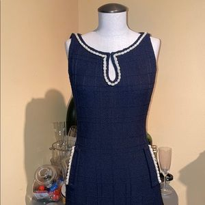 St John couture collection navy blue